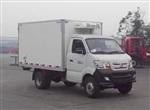 國四重汽王牌后雙輪冷藏車|藍牌冷藏車|柴油冷藏車