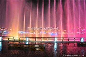 湖中喷泉一河中喷泉 南昌喷泉公司 江西喷泉公司