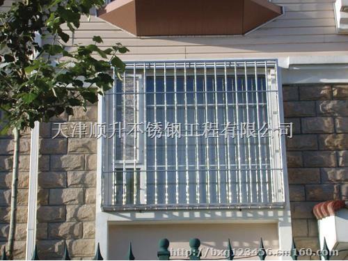 天津不锈钢加工,窗户防护栏,窗户防护栏多少钱图片