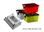 開一副塑膠冷藏箱模具 塑膠工具筐模具誰家專做