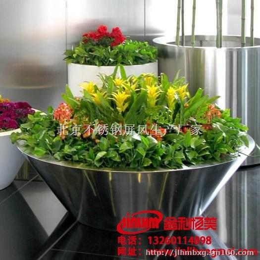 北京大型不锈钢花池定制价格不锈钢花盆厂家