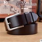 广州皮带厂全真皮厂家定制腰带承接各类大小订单
