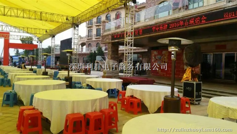 深圳大圆台圆桌宴会桌酒席桌餐桌围桌酒饭店桌子出租赁