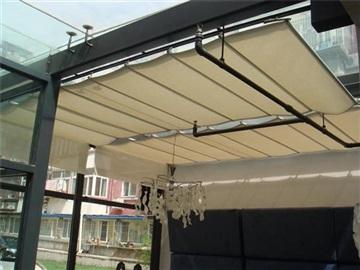 陽光房電動遮陽簾