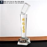 上海制作话筒造型奖杯,歌唱演讲比赛奖杯生产厂家