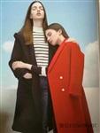 欧洲站羊绒大衣 高端精品女装尾货批发 品牌折扣女装