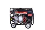 双缸350A汽油发电电焊机长时间施工