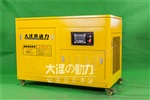 LED车载20kw静音柴油发电机