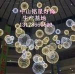 商场酒店购物中心4S店开业大堂中庭吊饰发光球装饰灯