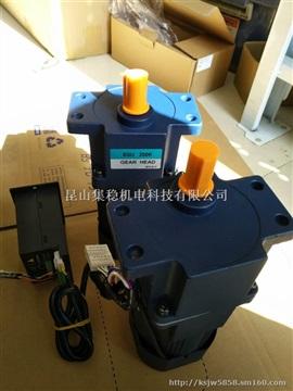 检测设备采用200瓦12转减速电机6GU120K