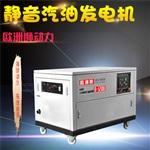 10KW靜音柴油發電機移動電源