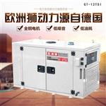 低噪音水冷12kw柴油发电机