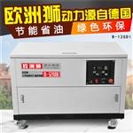 新型12kw静音汽油发电机