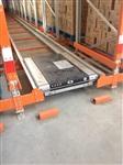 穿梭式带穿梭车半自动立体库货架