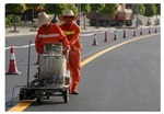 马路专业划线施工单位 热熔涂料生产厂家销售公司电话