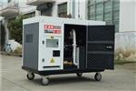 進口柴油機20kw靜音柴油發電機組