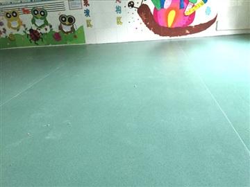 室內幼兒園環保塑膠地板,耐磨型兒童專用PVC地板膠