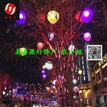 供应春节户外防水2019年热卖LED桃子造型灯