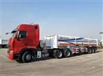 回收压缩天然气运输车尾 cng8管运输车