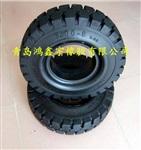 实心轮胎400-8升降机轮胎工业车轮胎