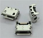 MICRO USB牛角型全插6.05 有柱短针短体