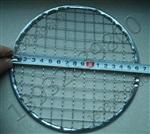 直径16.5cm圆形包边十字铁丝?#38450;?#22982;水晶泥网格