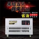 12kw静音汽油发电机型号施工工共用