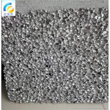 多孔多狀隔音吸音隔斷墻材料 防火材料泡沫鋁