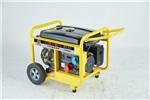 施工备用5kw汽油发电机开架款