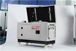 小型靜音式15kw柴油發電機學校備用