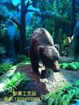 儿童动物科普展馆仿真棕熊仿真北极熊模型图片