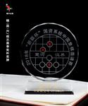 象棋比赛奖品订制,水晶奖牌,水晶象棋奖牌
