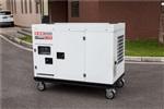 冷藏车10千瓦静音柴油发电机