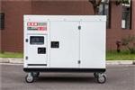 冷藏車15千瓦靜音柴油發電機