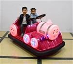 小金寶新款托馬斯大火車兒童碰碰車廣場游樂車雙人電瓶
