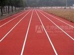 新國標塑膠跑道跑道地膠塑膠操場塑膠跑道地膠