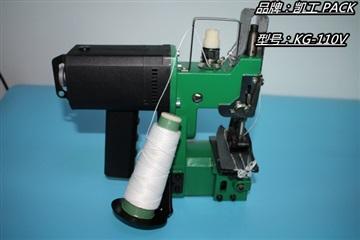 出口型电动缝包机怎么穿线的