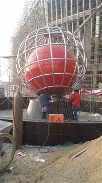 不锈钢雕塑水景-长沙不锈钢雕塑公司-长沙喷泉公司-