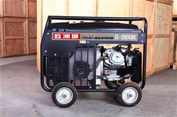 190A汽油電焊機重量