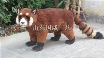 仿真小熊貓模型玩具