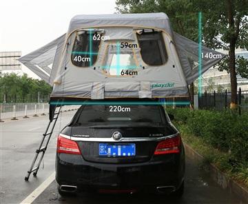 现货车顶帐篷充气帐篷体积小,适合2-3人情侣小家庭