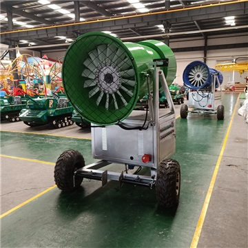 乘风而去两三里 进口大型造雪机 定量式国产造雪机