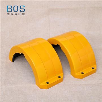 碳纖維高鐵零部件加工碳纖維高鐵信號燈保護罩