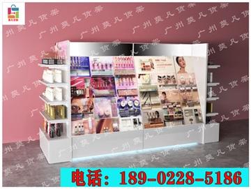 网红化妆品店货架,调色师化妆品店货架,诺米货架厂家