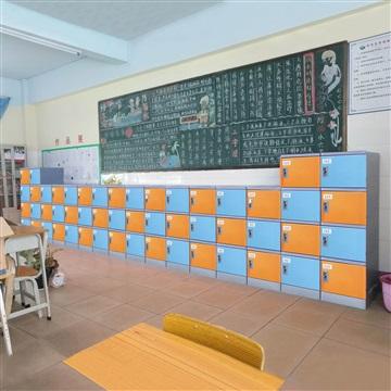 校園教室ABS塑料書包柜 中小學學生環保書包柜