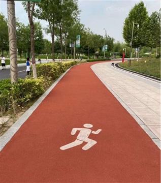彩色沥青路面施工 重庆陶瓷颗粒胶水厂公司