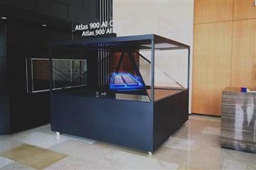 全息展示柜,3d全息投影柜,360幻影成像展示系统