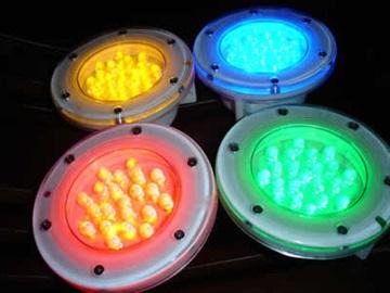 led水下彩燈武漢噴泉燈,噴泉彩燈,LED水底燈