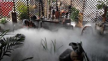 恒利達售樓部冷霧設備售樓部噴泉造霧XA750TS霧