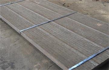 堆焊耐磨板復合耐磨板 6+4耐磨板 濟寧耐磨板